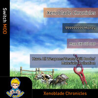 Xenoblade Chronicles (Switch Mod)-Max Money/EXP/SP/AP/All Weapons/Gear/Materials