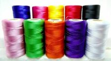 100% Pure Silk Thread Spools Embroidery Sewing Machine Crochet (pack of 5)
