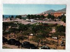 AJACCIO (Corse) CITROEN DS à la Place du DIAMANT animée en 1977