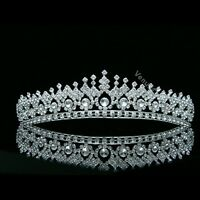 Gorgeous Bridal Pageant Rhinestone Crystal Prom Wedding Crown Tiara 8506