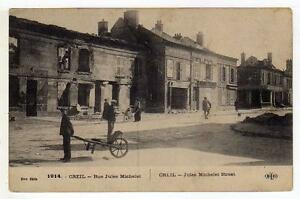A1043) France 1915 PC Creil - Wars 1914-18
