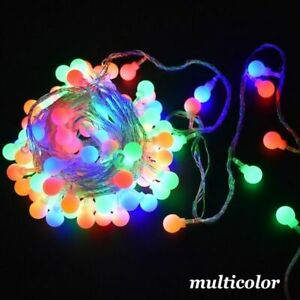 Fairy Garland LED Ball String Light Waterproof Christmas Tree Home Decorations