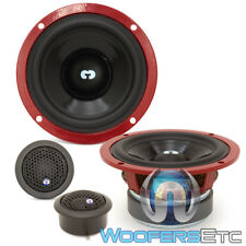 """CDT AUDIO HD-42/100 4"""" COMPONENT HIGH DEFINITION SPEAKERS TWEETERS CROSSOVERS"""