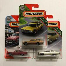 Matchbox '71 Oldsmobile Vista Cruiser & '75 Caprice Variations - $9.99 Shipped