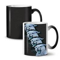 Wild Animal Tiger Cat NEW Colour Changing Tea Coffee Mug 11 oz   Wellcoda