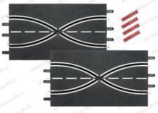 Carrera Evol./Excl./Pro-x/D 132 2x Spurwechsel 34,5 cm -lose-