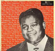 """FATS DOMINO """"THIS IS FATS"""" LP 1981 EMI / LIBERTY 2c 068-62383"""