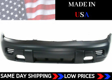 NEW Front Bumper Cover For 2002-2009 Chevrolet Trailblazer Primed SHIPS TODAY