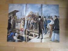 Wien Archiv Edition 1109 Bau des Cholera Kanals  1831