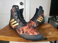 Adidas Flying Impact Wrestling Shoes Black & Gold CQ1767 Men's NEW