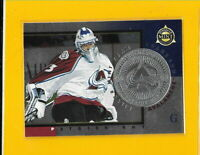 32384 PATRICK ROY 1997/98 PINNACLE MINT SILVER TEAM  AVALANCHE #11 BK$31.25