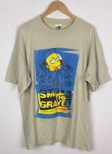 Vintage Retro años 90 Los Simpsons Camiseta Top Bart Simpson Krusty Nelson