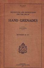 ESERCITO USA - Hand Grenades 1917 (1741A) Manual - DVD