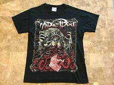 Vintage Winds Of Plague Deathcore Metal Band Graphic T-Shirt Adult Size Small