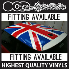 BMW / CLASSIC MINI UNION JACK ROOF GRAPHICS DECALS KIT JCW ONE JOHN COOPER S