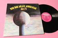 VAN DER GRAAF GENERATOR LP 68 71 ORIGINALE UK 1972 PINK LABEL NM !!!!!!!!!!!!