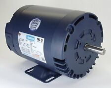 2HP 1725RPM 56HZ 3PH 208-230/460V ODP LEESON ELECTRIC MOTOR #E115826