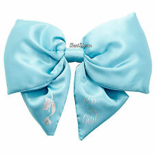Disney BIG FAT PUFFY The Little Mermaid Ariel Kiss The Girl Cosplay Hair Bow Pin