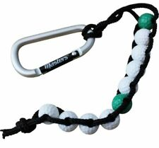 Masters Golf Bead Stroke Counter Ideal and Simple to use Includes Carabiner Clip