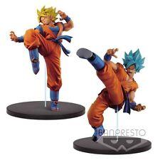 (P) BANPRESTO BANPRESTO DRAGON BALL SUPER SON GOKU GOKOU FES PVC Figure Set of 2