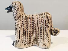 Lisa Larson Pottery Dog Afgan Hound Kennel Series Gustavsberg Sweden 1972