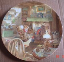 Wedgwood Collectors Plate WIND IN THE WILLOWS - FIRESIDE TALES