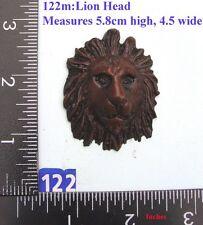 """122M """"Lions Head"""" clock case / furniture DIY"""