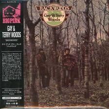 GAY & TERRY WOODS-BACKWOODS-JAPAN MINI LP CD Ltd/Ed F83
