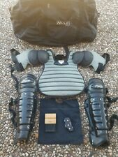Honig's Umpire Chest Protector, Shin Guards Counter Brush Belt Bag Carrying Bag