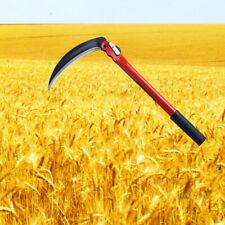 Folding Sickle Scythe High Quality Steel Mowing Knife Grass Cutting Garden Farm