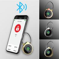 2.5-4.2V Fingerprint Padlock Wire Rope Smart Phone Unlock Anti-Theft Accessories