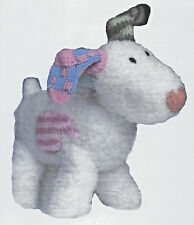 Snowdog (from The Snowman) soft toy knitting pattern NOT the actual toy DK 608