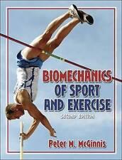 Biomechanics of Sport and Exercise by Peter M. McGinnis (Hardback, 2004)
