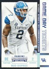 2015 Contenders Draft Picks Game Day Tickets #53 Bud Dupree Kentucky Wildcats