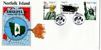 1986 Norfolk Islands Ameripex '86 First Day Cover