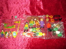 Playmobil 3666 Castle Parts 9 FIGURES NEW SEALED BAGS Kings Medieval Knights I