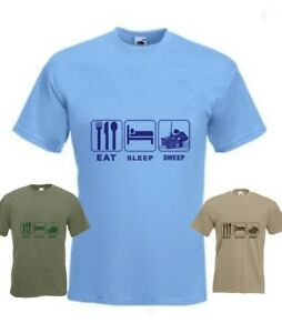 Eat Sleep Chimney Sweep Funny T-Shirt any size