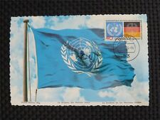 BUND MK 1973 781 UNO UN MAXIMUMKARTE CARTE MAXIMUM CARD MC CM c1600