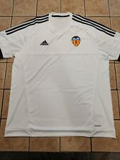 Valencia 15/16 Home Shirt Blank Replica Jersey Adidas Men's NWT White sz XL
