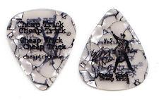 Cheap Trick Rick Nielsen Signature White Pearl Guitar Pick #2 - 2006 Tour