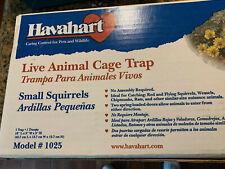 Havahart 1025 Galvanized Steel 2 Spring Loaded Door Animal Cage Trap