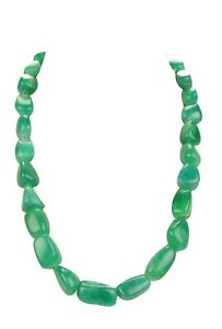 100% Natural Green Emerald 853.20Ct Far Size Fancy Cabochon Beaded Necklace