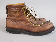 VTG Herman Survivor Insulated Work Leather Brown Mens Boots Size 8