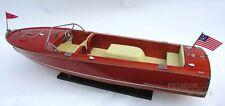 "Chris Craft Sportsman Ultility Thayer IV Display Model Boat 33"""