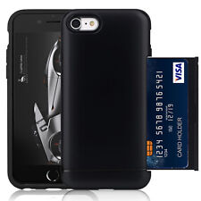 iPhone 6 Stand Armor Case Card Slot Holder Wallet ID Case Dual Layer Protection