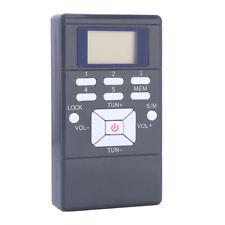 Mini Portatile LCD FM Radio Digitale Ricevitore wireless con stereo auricolare