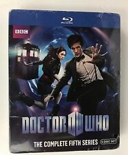 SEALED! ~ Doctor Who: The Complete Fifth Series (Blu-ray Disc, 2010, 6-Disc Set)