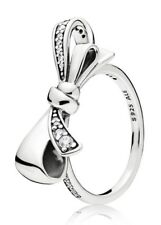 Pandora Brilliant Bow Ring S925 ALE Size 54 - FREE GIFT POUCH