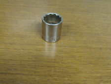 "S-K Tools 12 Point 1/2"" Drive 1-1/8"" Socket No 40136"