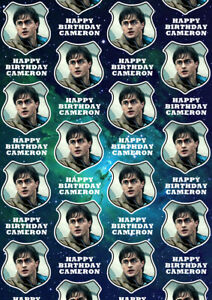 HARRY POTTER Personalised Gift Wrap - Harry Potter Wrapping Paper